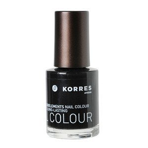 Korres nail colour 101 black
