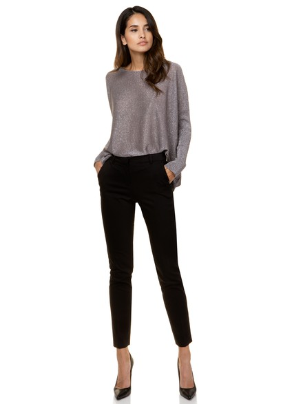 Straight leg office pants