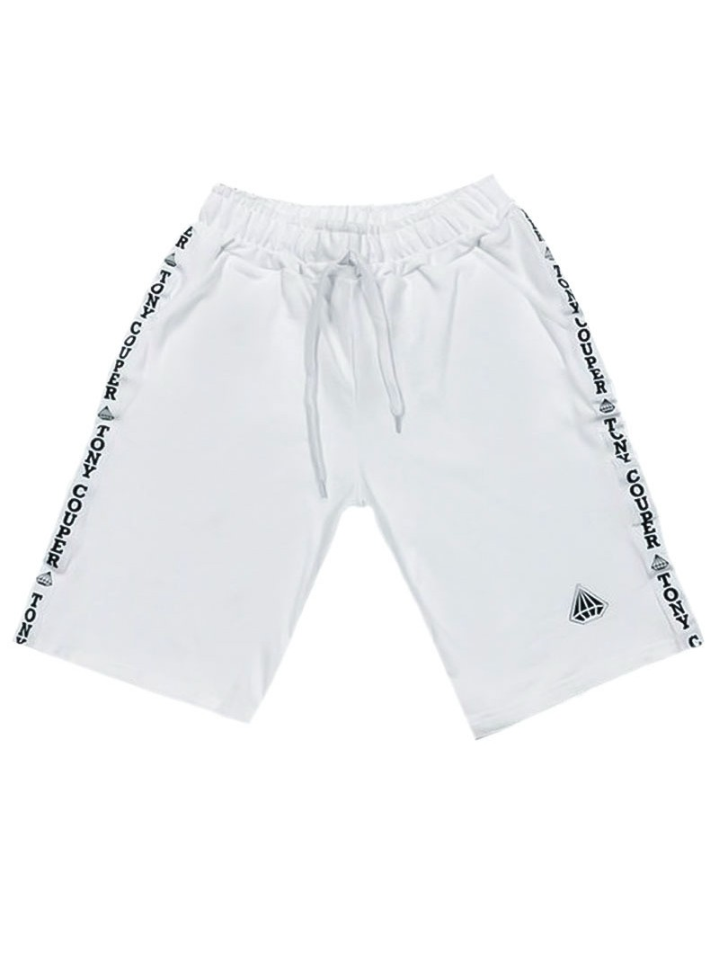 TONY COUPER WHITE GROSS SHORTS