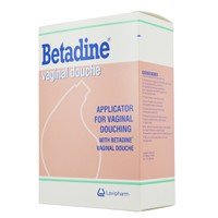 BETADINE APPLICATOR FOR VAGINAL DOUCHE