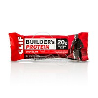 CLIF -  CLIF BAR Builder's Protein Μπάρα Πρωτεΐνης Chocolate - 68gr
