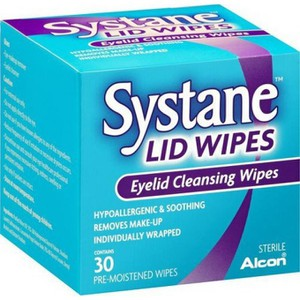 Systane lid wipes 30ct