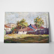 Country landscape oil painting 59231995 a