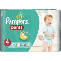 Pampers Pants Value Pack No.4 (Maxi) 9-14 kg 30 τεμάχια