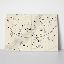 Astronomical celestial atlas map 525646471 a