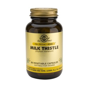 SOLGAR Milk thistle 50vegetable capsoules