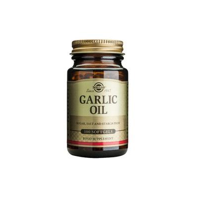 Solgar - Garlic Oil - 100softgels