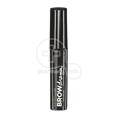 MAYBELLINE - BROW DRAMA Mascara (Dark Brown) - 7,6ml