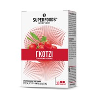 SUPERFOODS GOJI 300MG 30CAPS