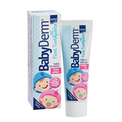 INTERMED - BABYDERM First Toothpaste χωρίς φθόριο - 50ml