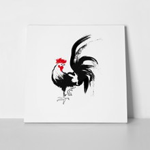 Ink draw rooster 510713965 a