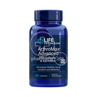 LIFE EXTENSION - ARTHROMAX ADVANCED NT2 Collagen & ApresFlex - 60caps