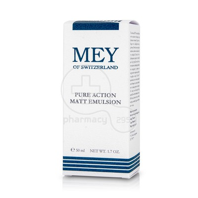 MEY - Pure Action Matt Emulsion - 50ml