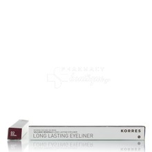 Korres Long Lasting Eyeliner - 02 BROWN, 1.2gr