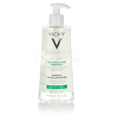 Vichy Purete Thermale Eau Micellaire Minerale Oily to Combination Skin - Νερό Καθαρισμού Προσώπου για Μικτή / Λιπαρή επιδερμίδα, 400ml