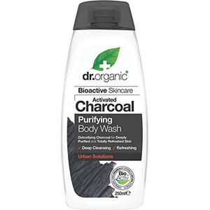 Dr.organic bioactive skincare activated charcoal purifying body wash
