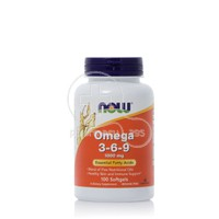 NOW - Omega 3-6-9 1000mg - 100softgels