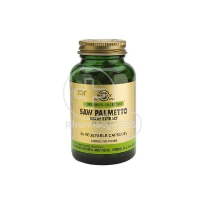 SOLGAR - Saw Palmetto Berry Extract - 60tabs