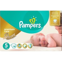 Pampers Premium Care No5 (11-18Kg) 88 Πάνες