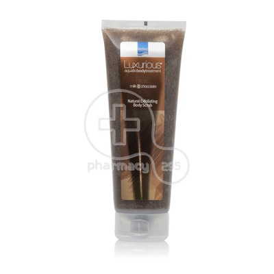 INTERMED - LUXURIOUS AQUATIC BODY TREATMENT Natural Exfoliating Body Scrub Milk Chocolate - 250ml
