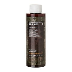 Korres Αφρόλουτρο Mountain Pepper/Bergamot/Coriander 250ml