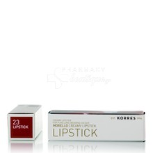 Korres Morello Creamy Lipstick - 23 (Natural Purple), 3.5gr