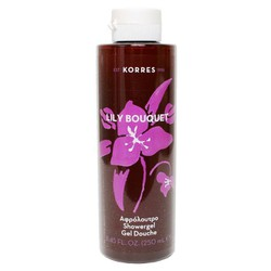 Korres Showergel Lily Bouquet Αφρόλουτρο 250ml