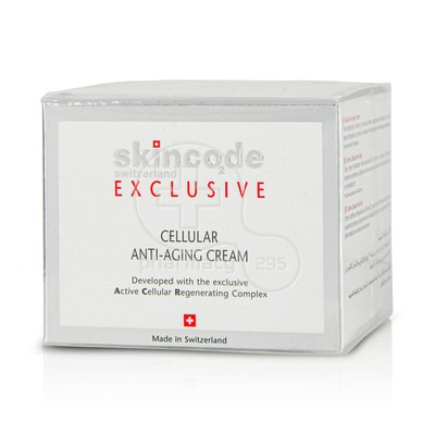 SKINCODE - EXCLUSIVE Cellular Anti Aging Cream - 50ml