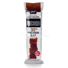 QNT Whey Protein Record Bar - Chocolate Brownie (30%), 60gr