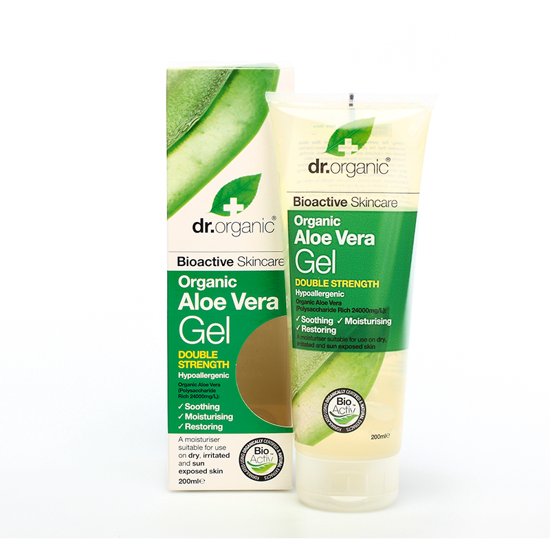 Organic Aloe Vera Gel Double Strength