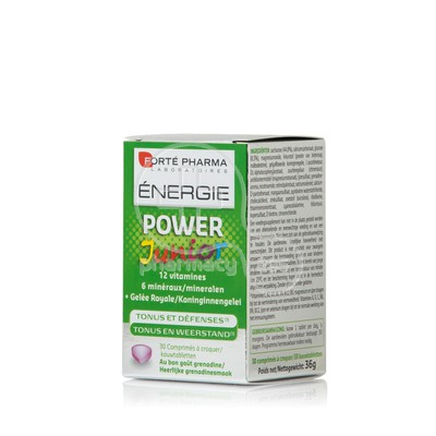 FORTE PHARMA - ENERGIE Power Junior - 30chew.tabs