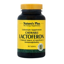 Nature's Plus Lactoferon 90 Chewable Tablets