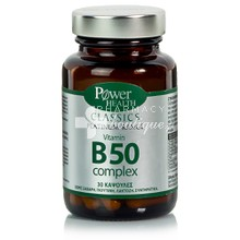 Power Health Platinum Vitamin B50 COMPLEX, 30caps