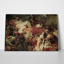 Eugene delacroix   the death of sardanapalus