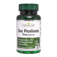 NATURES AID ZINC PICOLINATE 15MG 90TABS
