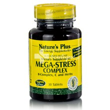 Natures Plus MEGA-STRESS - Άγχος, Στρες, 30tabs