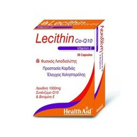 HEALTH AID LECITHIN 1000MG+Q10+VITAMIN E 30CAPS