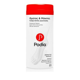 Podia Athlete's Foot Deopowder Powder, Πούδρα Ποδιών 100gr