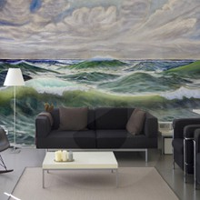 Wild sea painting a