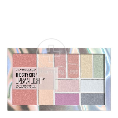 MAYBELLINE - THE CITY KITS ALL IN ONE Eye & Cheek Palette (Urban Light) - 12gr