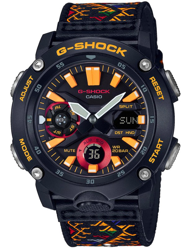 G-SHOCK Special Edition Bhutan Textile Traditional Pattern