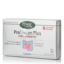 Power Health Platinum Probiozen Plus Chios Mastic - Γαστρεντερικό Σύστημα, 15 caps