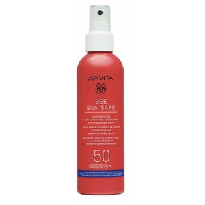 APIVITA Bee sun safe αντηλιακό spray Spf50 200ml