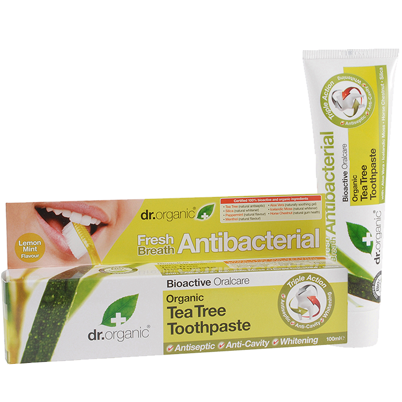 Organic Tea Tree Toothpaste (Antibacterial)
