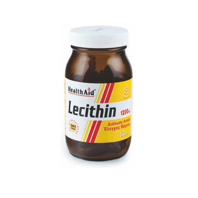 Health Aid - Lecithin 1200mg GMO free - 50caps