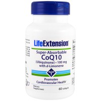 LIFE EXTENSION CoQ10 (UBIQUINONE) 100MG 60SOFTGELS