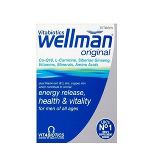 Vitabiotics wellman original