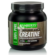 Lamberts CREATINE Powder - Κρεατίνη, 500gr