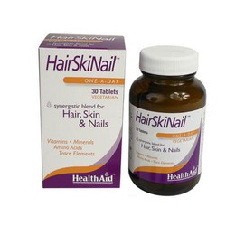Health Aid Hair Skin Nails 30tabs
