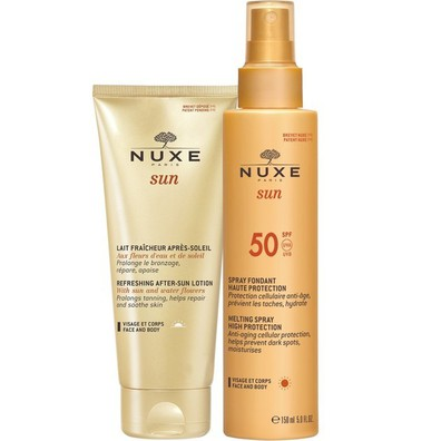 Nuxe promo sun melting spray spf50